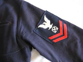 Post WWII NAVY DRESS UNIFORM SHOW EMBOIDERED LIBERTY CUFF JUMPER PANTS