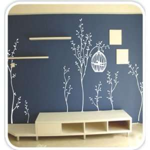 Black)   Loft 520 Home Decor Vinyl Mural Art Wall Paper Stickers Baby