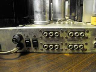 Vintage Fisher 500C FM Stereo Multiplex Tube Receiver Amplifier Amp