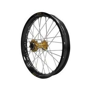 Excel Pro Series Front Wheel Set   Hub Gold/Wheel Black   20 x1.85 32H