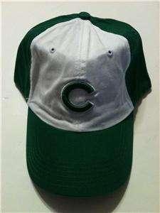 NEW Chicago Cubs GREEN Baseball Adjustable Cap Hat