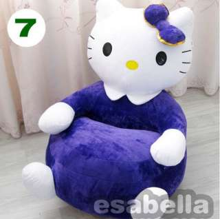 HOT NEW BRAND HELLO KITTY KIDS STUFFED ANIMAL SOFA KIDS CHAIR