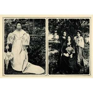Costume Oriental Fan Philippines   Original Duotone Print: Home