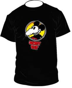 the Mickey rat classic t shirt vintage black tshirt SIZES S XXL NEW