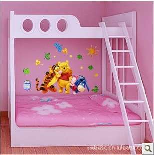 Winnie The Pooh Baby Nursery Room Wall Sticker Friends