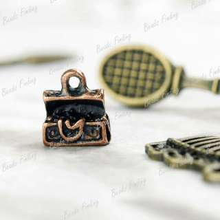 50pcs Wholesale New Tool Home Garden Charms Vintage Style Antique