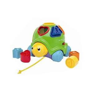 Just Kidz Shapes N Sounds Musical Turtle: Toys & Games