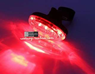 NEW 5 LED Cycling Bicycle Bike Egg ultra bright Rear Tail Light
