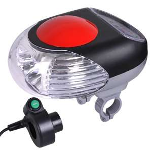 36V Electric Bicycle Bike Power LED Head Light Indicator For Cycling