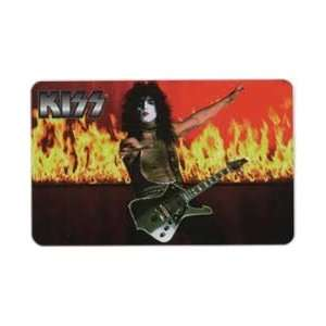 Collectible Phone Card KISS Rock & Roll Band   Paul