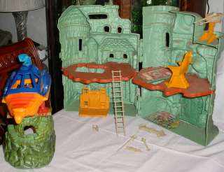 He Man MOTU 1980s Original Series Playsets Lot