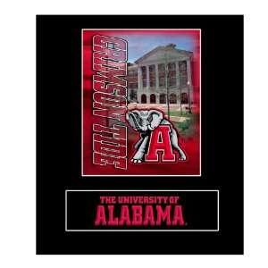 Alabama Crimson Tide 15.75 x 17.75 Framed Wall Art Decor