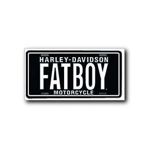 Chroma Graphics 1863 Auto Tag Harly Fat Boy: Automotive