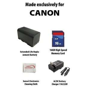 com Li Ion Extended Life Replacement Battery Pack for Canon BP 945 BP