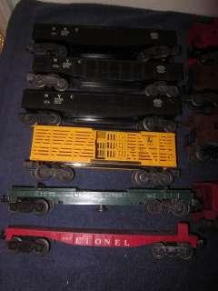 14 LIONEL TRAINS POSTWAR FREIGHT CARS