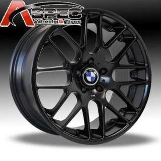 19 BLACK CSL FIT BMW E46 E90 E91 M3 325 328 335I WHEEL