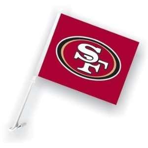 NFL San Francisco 49ers 11x14 Car Flags with Bracket