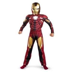 Iron Man 2  2010 Movie  Mark VI Classic Muscle Child Costume Toys