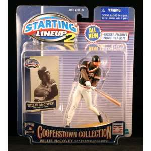 WILLIE MCCOVEY / SAN FRANCISCO GIANTS 2001 MLB Cooperstown