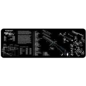 Bench Gun Mat For The Ruger Mini 14 Mini 14 Rifle: Sports & Outdoors