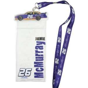 McMurray Credential Holder   Jamie McMurray One Size Sports