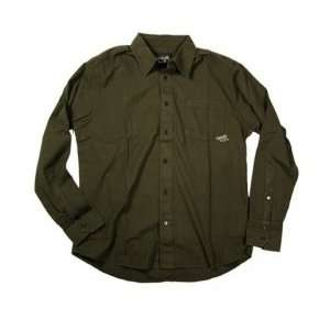 Planet Earth Clothing Brownsville L/S Woven: Sports & Outdoors
