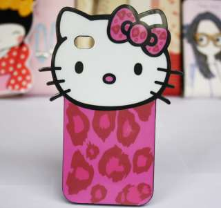 Hello Kitty Red Bow Classic Pose TPU Hard Silicone Case Cover For