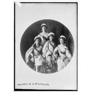 Children of Czar of Russia