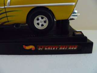Hot Wheels Collectibles '57 Chevy Hot Rod Car   Sweet!