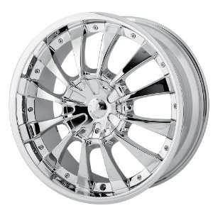 22x9.5 MPW Style MP202 (Chrome) Wheels/Rims 5x115/127