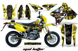 AMR STICKER GRAPHICS KIT SUZUKI DRZ400 DRZ400SM 400 SM