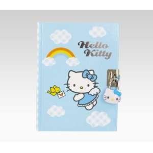 Hello Kitty Diary With Lock And Key Angel Kitty Toys