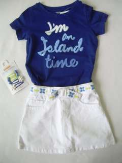 NEW Girls Spring Summer Clothes LOT Gymboree GREEK ISLE STYLE Mosaic