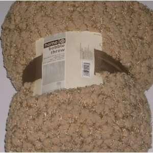 Tan Plush Micro Bobble Super Soft Throw Blanket