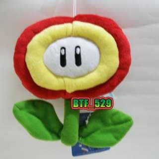 New Super Mario Brothers Plush Figure ( 61/2 Fire Flower ) x 1pcs
