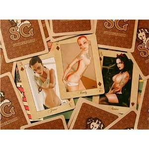 Suicide Girls Playing Cards set 1 by Rion Vernon:  Sports