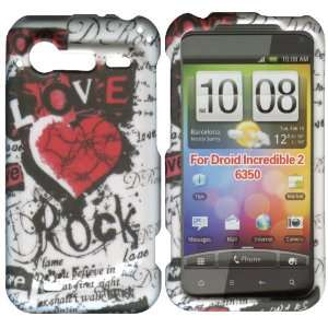 Rocks & Love HTC Droid Incredible 2 ADR6350 Case Cover
