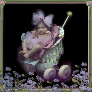 VICMAR baby sculpture fairy ooak polymer clay art doll artist infant