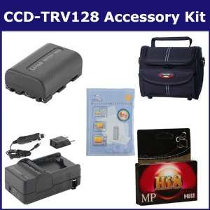 Sony CCD TRV128 Camcorder Accessory Kit includes HI8TAPE Tape