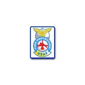 US Air Force Fire Protection Decal Sticker 3.8 6 Pack