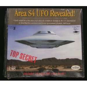 Area S4 UFO revealed (148) #576/ Includes 16 page full color book