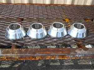 Lincoln Town Car Chrome Steel Center Cap Set OEM LKQ