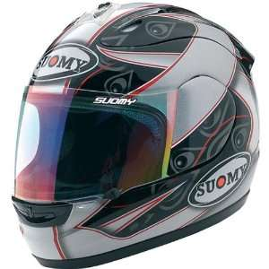 Suomy Spec 1R Extreme Double Gray Helmet   X Large/Grey
