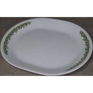 Spring Blossom Green (Crazy Daisy) Serving Platter
