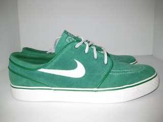Nike Zoom Stefan Janoski SB Pine Green White Black low mid boat shoe