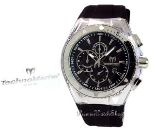 MARINE CRUISE ORIGINAL CHRONO 110048 BLACK/STEEL MENS WATCH