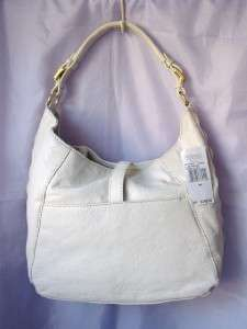 Michael Kors Calista Leather Duffle Wht NWT 30F01CAL2L
