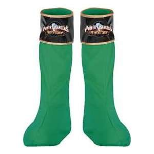 Green Power Rangers Mystic Force Boot Covers