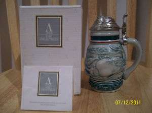 Avon Endangered Species Mini Stein   Sperm Whale   MIB