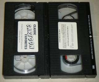 VHS MOVIE SET Classic Cartoon Favorites & Betty Boop Cartoons Vol. 1